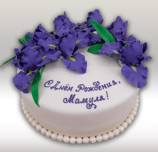 Торт для мамы на день рождения
