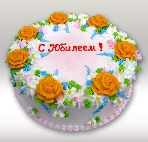 Торт на юбилей маме