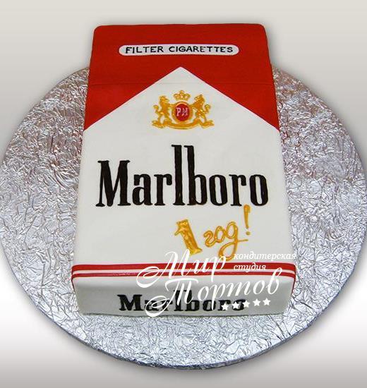 Торт Marlboro