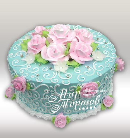 торт на день рождения для женщины фото
