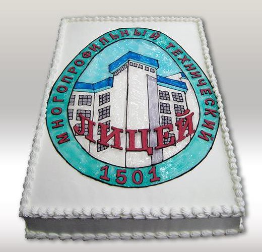 Торт лицей