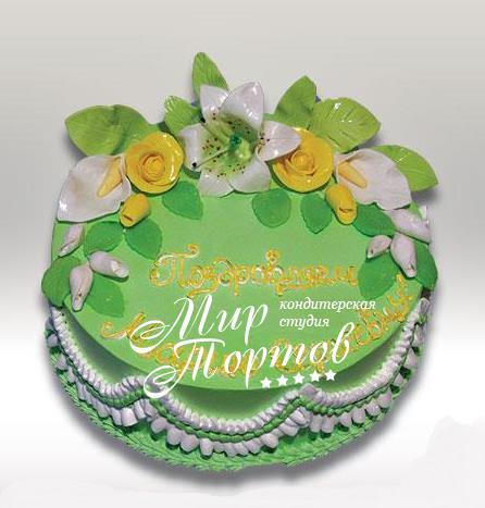 Торт на день рождения маме
